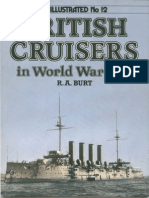 WI12 British Cruisers in WWI