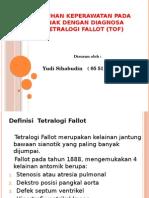 Askep Anak Tetralogi Fallot (Tof)