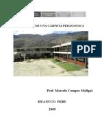 Modelo de Carpeta Pedagógica
