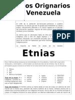 Modulo Impreso Indigenas Venezolanos