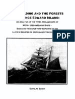 Shipbuilding and the Forests of PEI