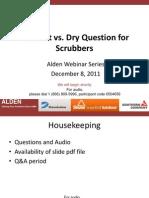 FGD scrubber slides
