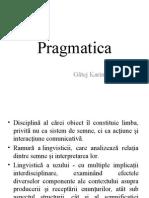 Pragmatica Gatej Karina