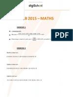 Brevet 2015 math