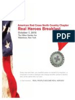 Red Cross Real Heroes Breakfast Applications