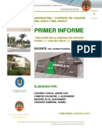 2. Primer Informe Control