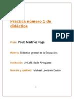 Maicol Practica Numero 1 de Didactica