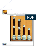 72.5 - 420kV Capacitive Voltage Transformer