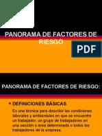 Panorama Def Actores de Riesgo s