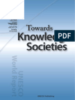 Unesco Towards Knowledge Societies 2005