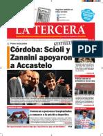 Diario La Tercera 25.06.2015
