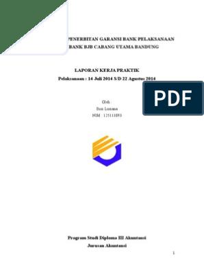Struktur Organisasi Bank Bjb Kantor Cabang - Berbagi Struktur