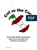 3rd Grade Maths Homework