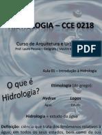 Aulas de Hidrologia