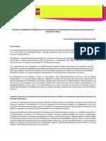 Asuntos a Abordar IM-D en 27 Reunión Presidentxs Órganos #DDHH en Costa Rica (25062015)