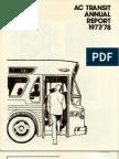 AC Transit Annual Report 1977-1978