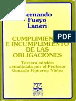 Cumplimiento e incumplimiento de las obligaciones, Fernando Fueyo