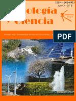 Revista ciencaçia y tecnologia