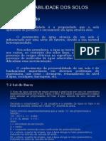 Mecânica Dos Solos I - Capítulo VII - Permeabilidade Dos Solos