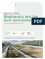 Biodiversity and the Built Environment - Full Report and Appendices
