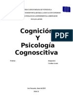 Concepto de Cognición