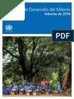 Objetivos Milenio Report 2014 Spanish