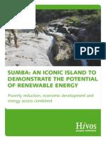 Sumba an Iconic Island Demonstrating Renewable Energy