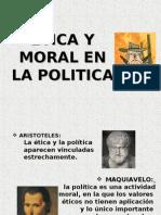 Etica y Moral en La Politica