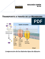 Transporte a Través de Membrana