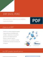 Ejemplo ERP Aplicado en EL PERÚ
