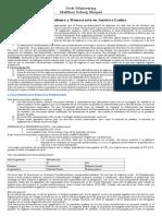 Resumen. Mainwaring - Presidencialismo y Democracia en Am Rica Latina