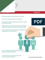 Dewey Today - Revista Electrónica Spring 2015