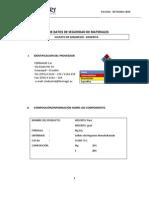 MSDS Sulfato de Magnesio - Kieserita