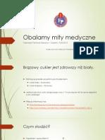 Obalamy mity medyczne