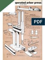 Arbor Press Plans