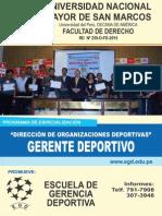 Brochure Egd 2015 - Gestion Deportiva
