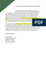 Request for Proposal Cattle Grazing Myakka RiverDD VS FINAL Draft 3 3 15.docx