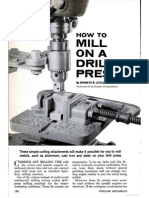 How to Mill on a Drill Press