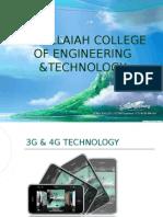 3G and 4G Presentation