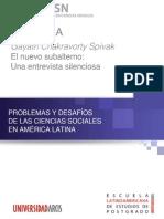 4.3 - El Nuevo Subalterno - Spivak Entrevista