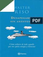 Desapegarse Sin Anestesia de Walter Riso Rv