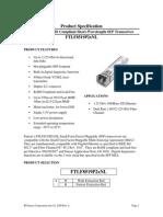 FINIS Ftlf8519p2bnl bSFP HUawei BBU 39000