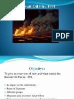 Environmental Health Case - Kuwait Oil Fire 1991