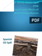 River and Stream Pollution Case - Spanish Waste Water Spill - 1998