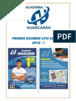 Solucionario Primer Examen Cpu 2012-i