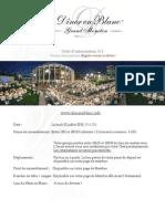 Informations Diner en Blanc Grand Moncton English | Francais
