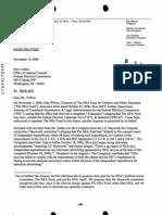 Oct 2006 FEC Complaint Answer of NEA