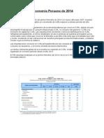 Economía Peruana de 2014