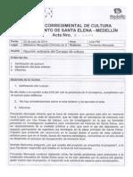 Acta No. 3 de 2014