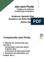 001_Compressao Sem Perdas - Huffman e Aritmetica.docx